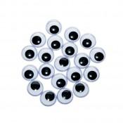 Mókás szemek - 11 mm, 20 db