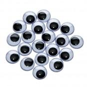Mókás szemek - 15 mm, 20 db