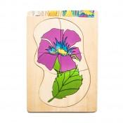 Virág puzzle