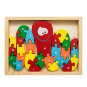 Okos polip puzzle