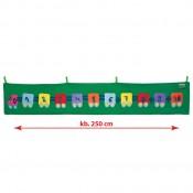 Óriási vonat számolgató kirakó