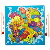 Horgászjáték és puzzle, 2 az 1-ben