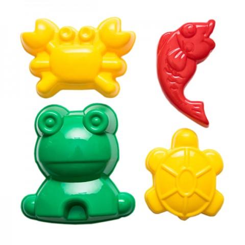 Homokozó formák - vízi állatok
