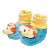 Macis cipőcske zoknival